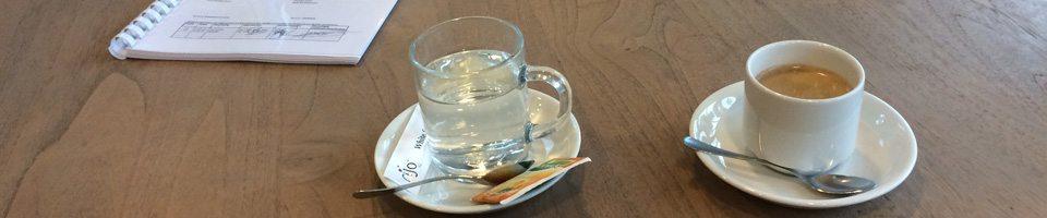 Koffie en thee voor opdrachtgevers